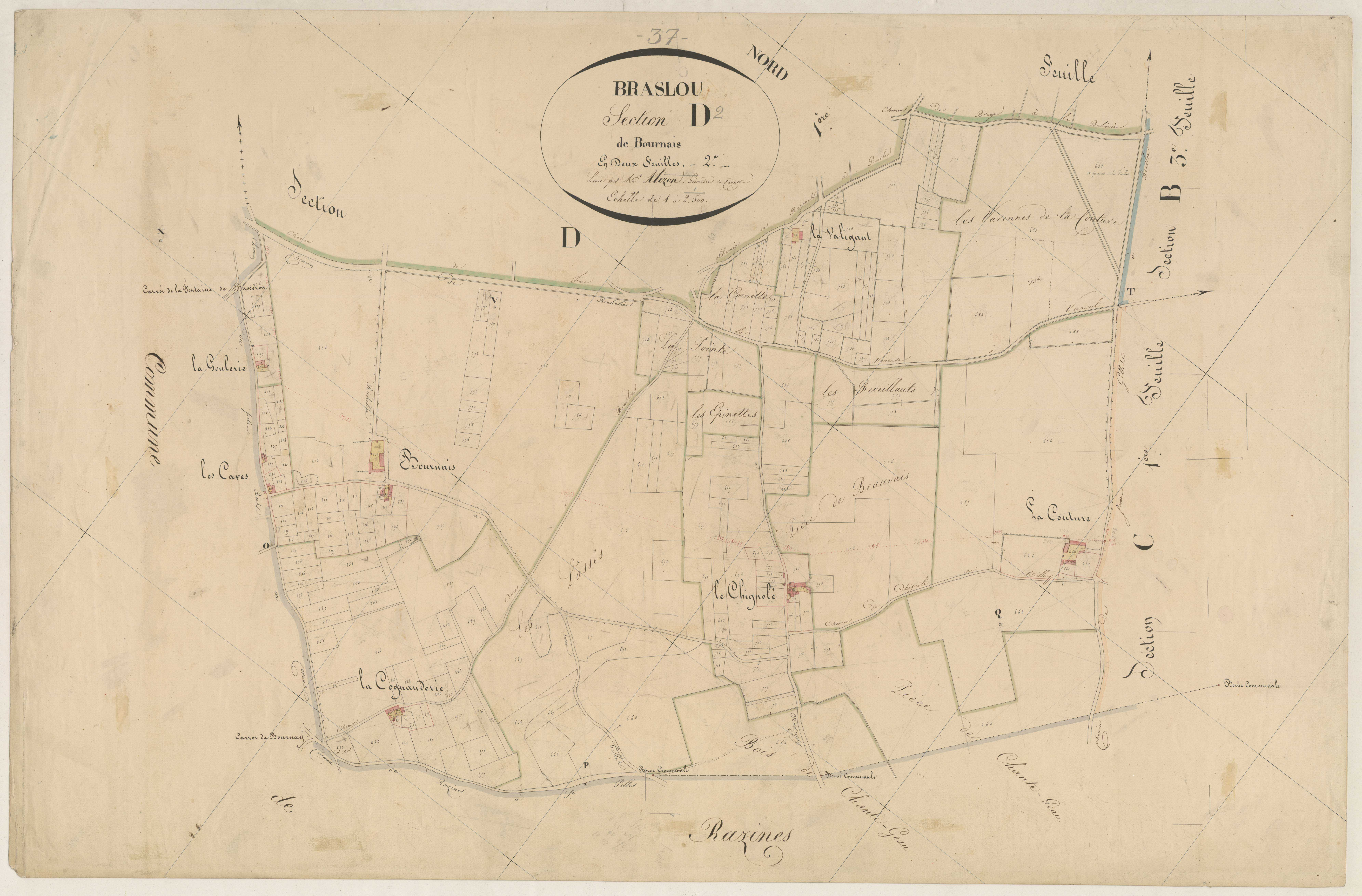Section D2 de Bournais