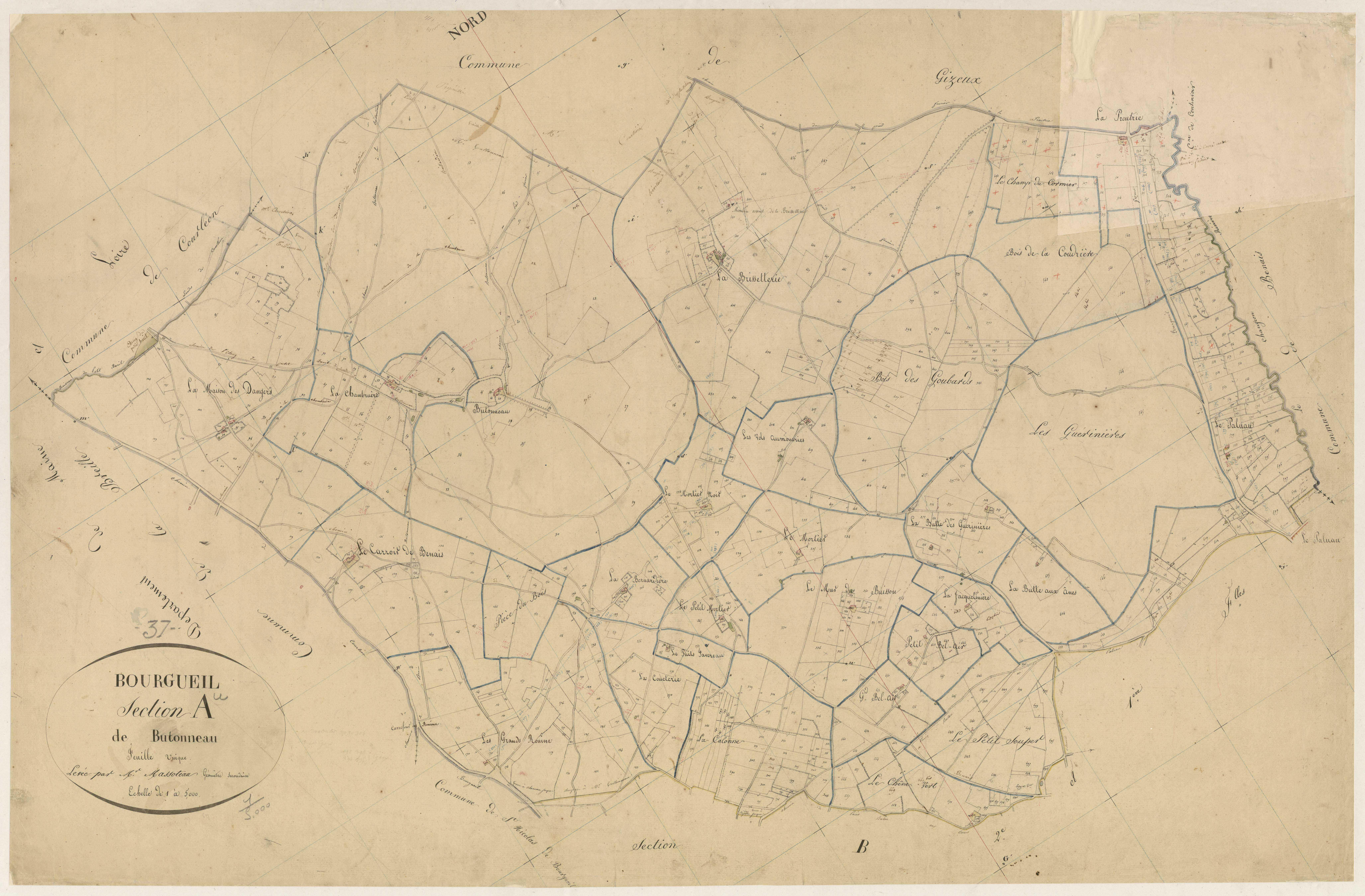 Section A1 de Butonneau