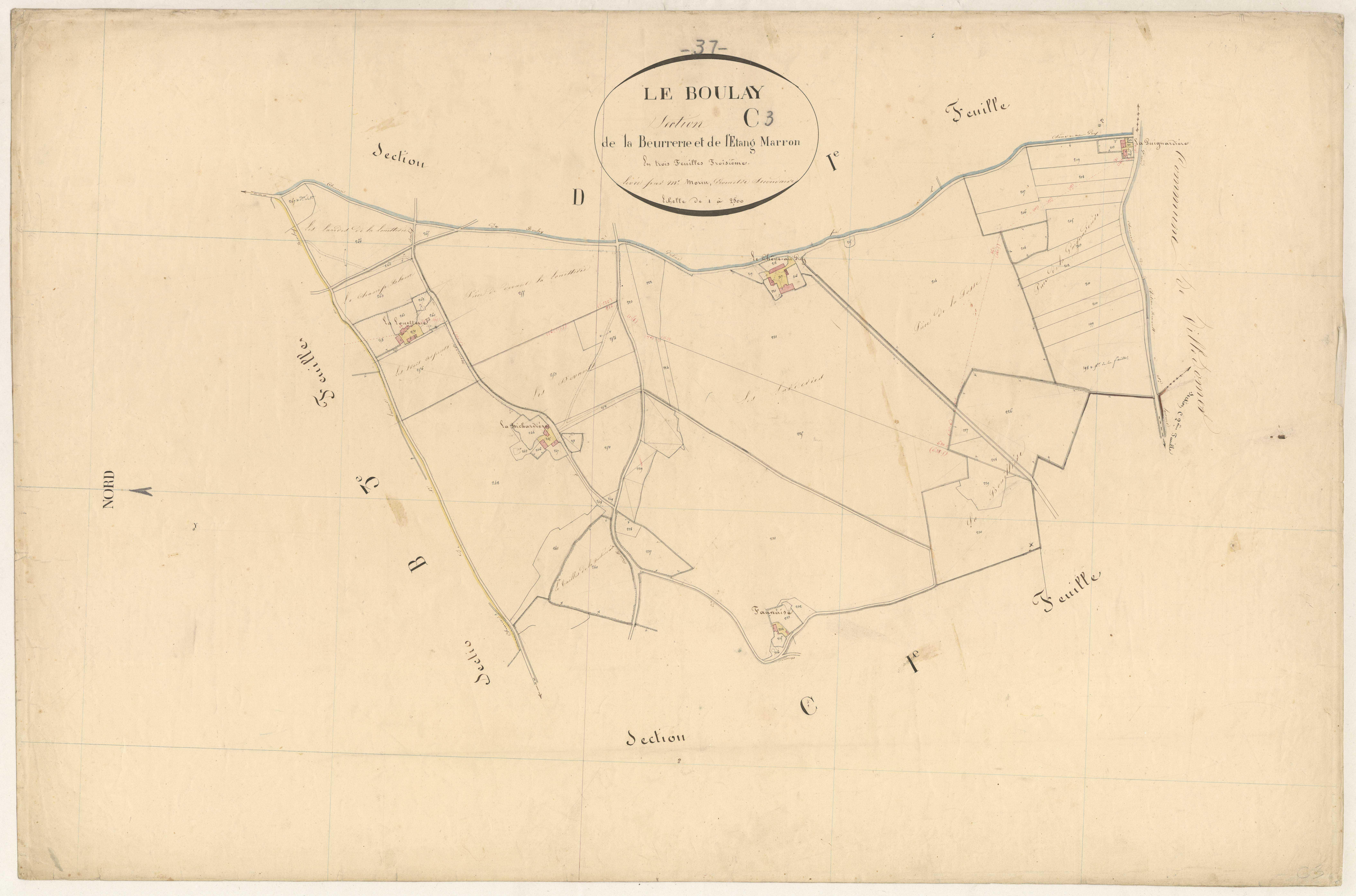 Section C3 de la Beurrerie et de l'Etang Marron