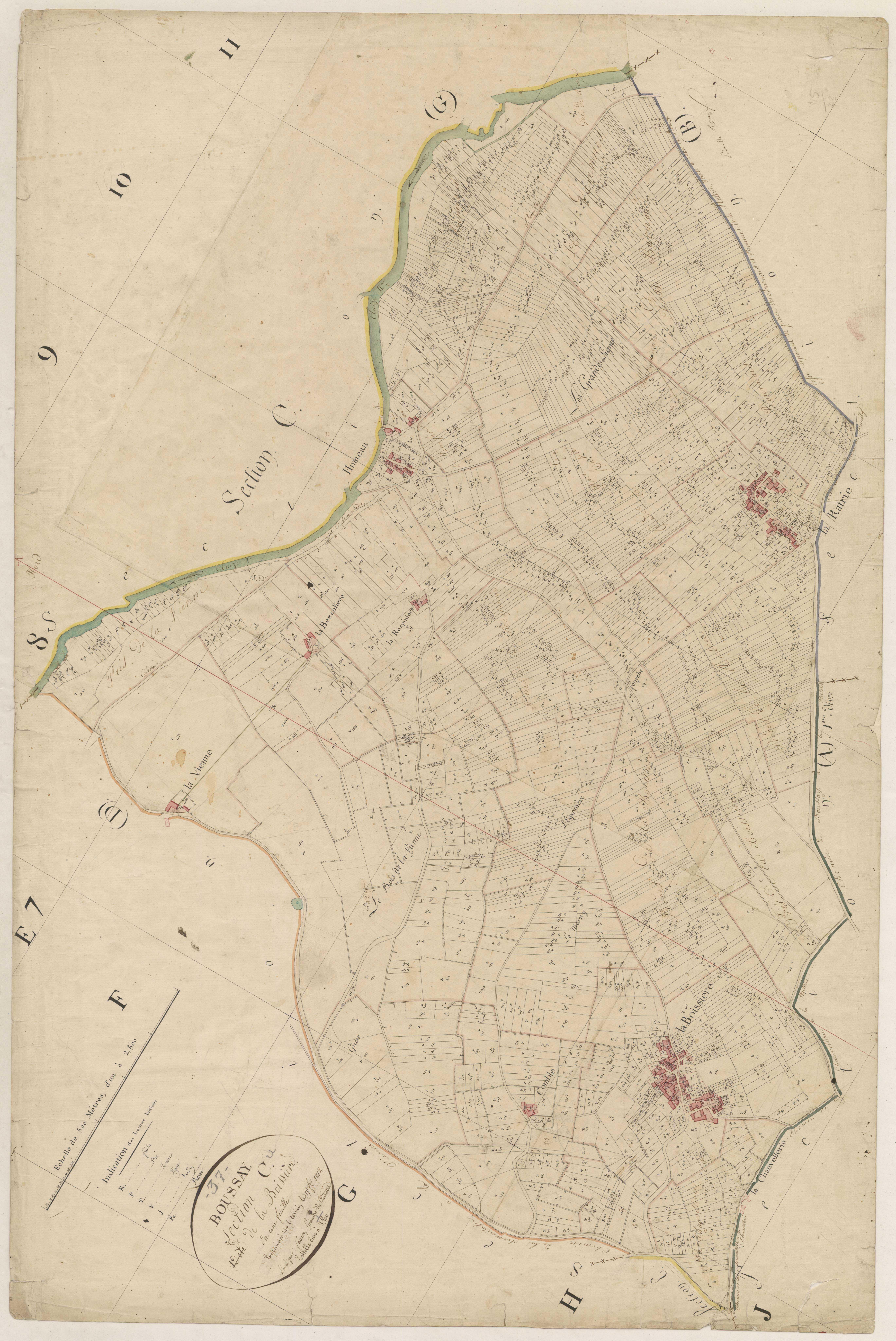 Section C1 de la Boissière