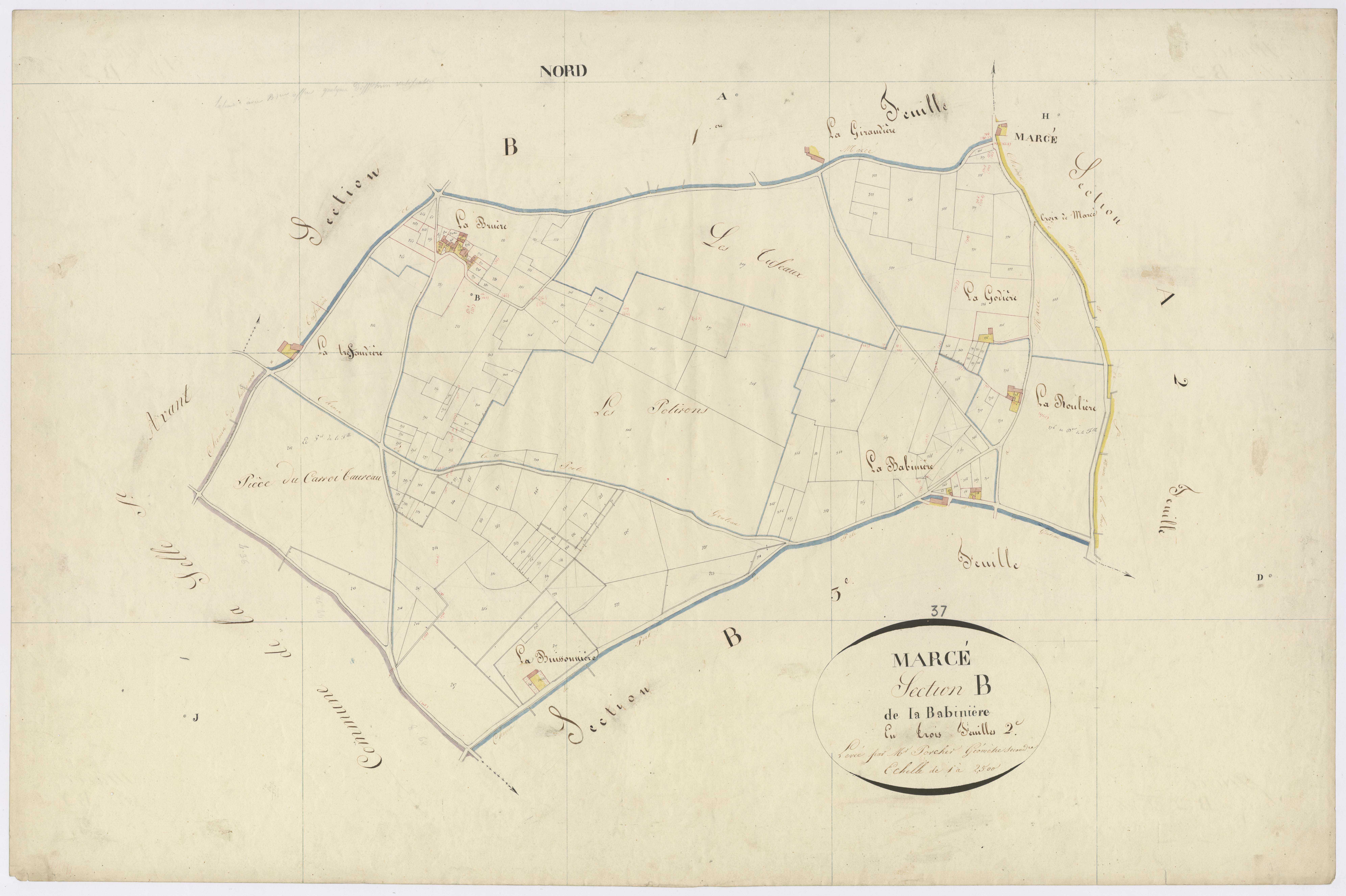 Section B2 de la Babinière